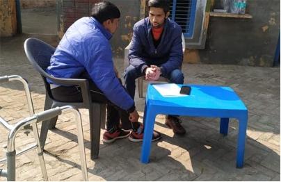 Tulip hospital organized a free health camp in Dr. Amar Sethi Hospital, Kharkhoda on the occasion of Republic Day.