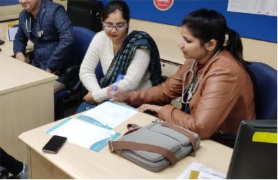 Free Health Check-up Camp at HDFC Bank Sonipat