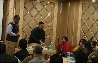 Tulip Multispeciality Hospital held a workshop on Basic Life Saving at Rang Mahal, Murthal